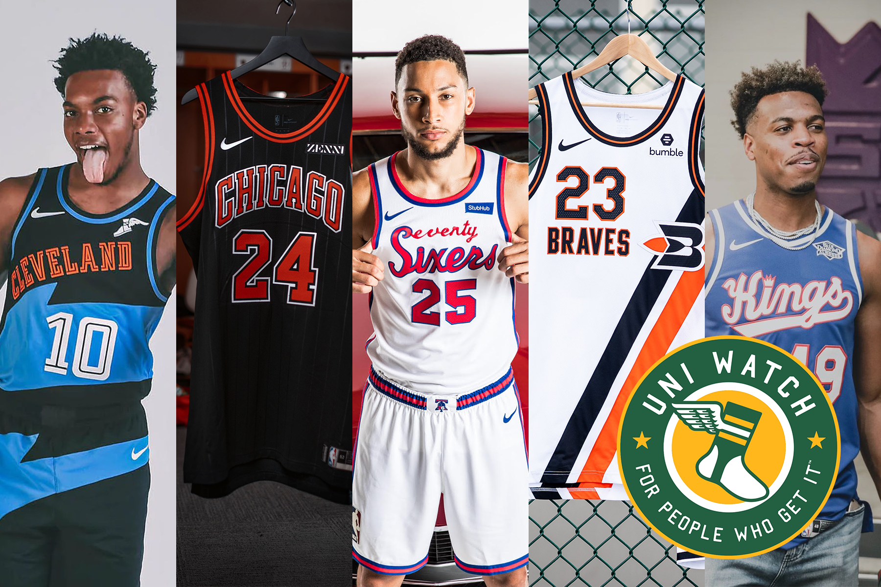 Christmas Jerseys Nba 2020 The 2019 Uni Watch NBA Season Preview   InsideHook
