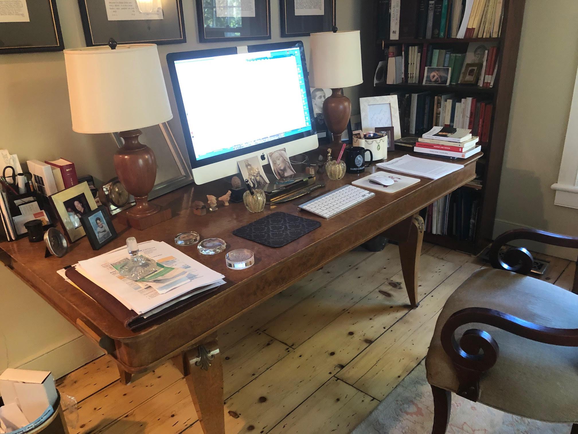 Writer and Critic Daniel Mendelsohn Keeps a Tidy Desk