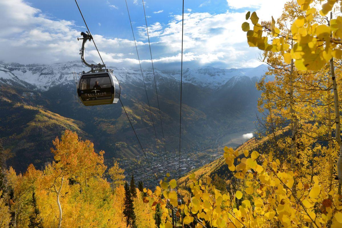 The Telluride gondola