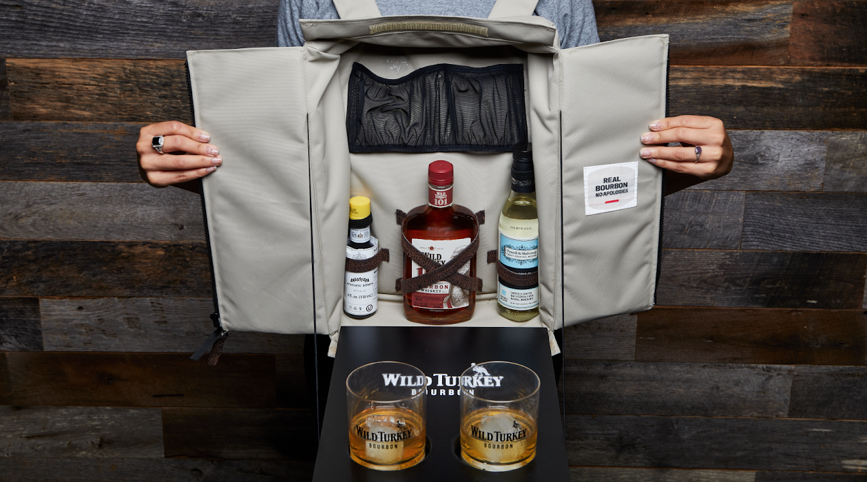 Wild Turkey Bourbon whiskey whisky