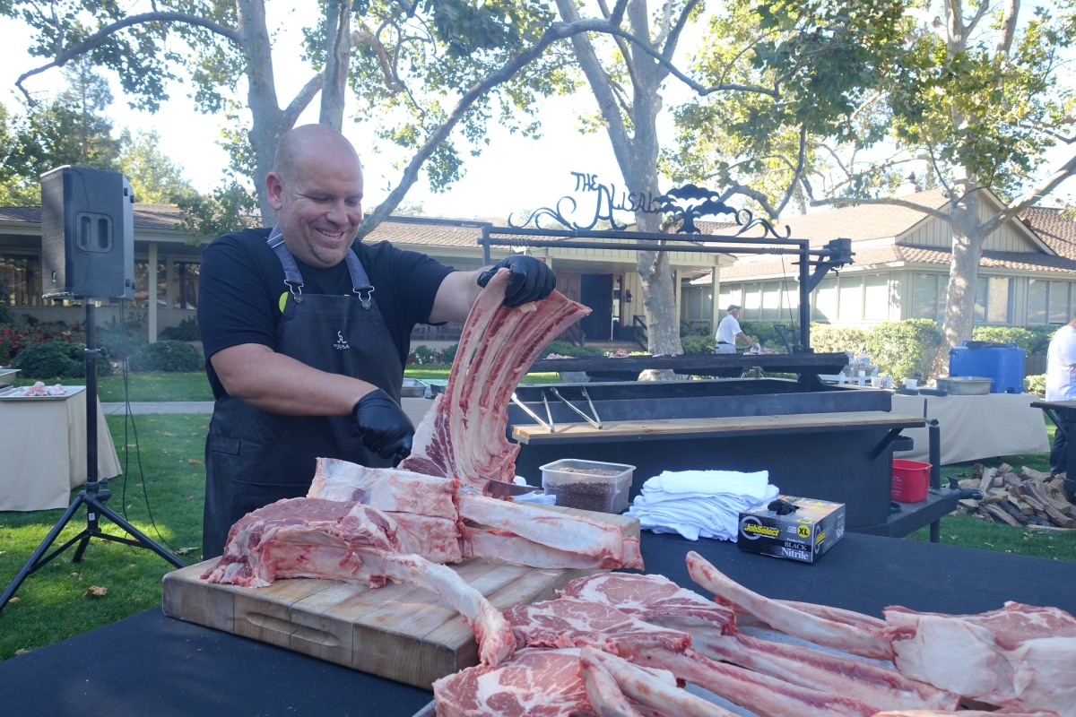 Chef Anthony Endy at BBQ Bootcamp (Photo courtesy of Alisal Guest Ranch & Resort)
