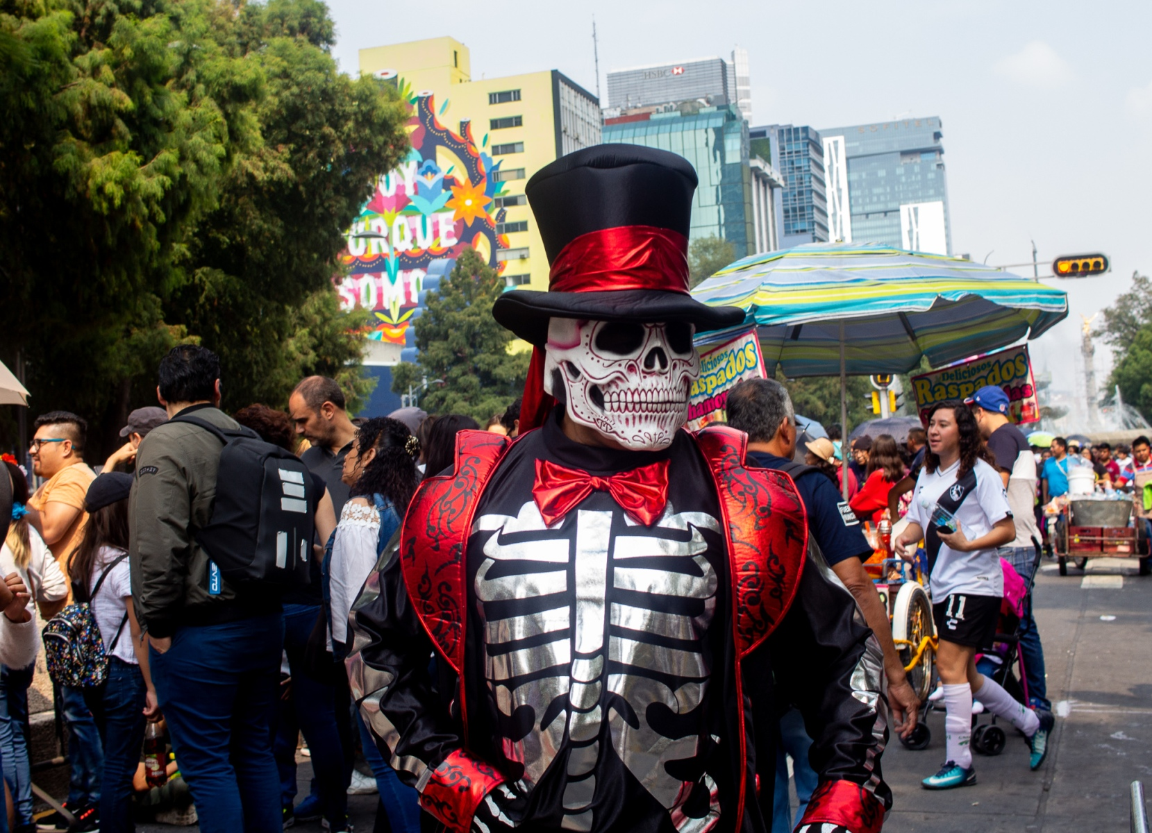 day of the dead skeleton man