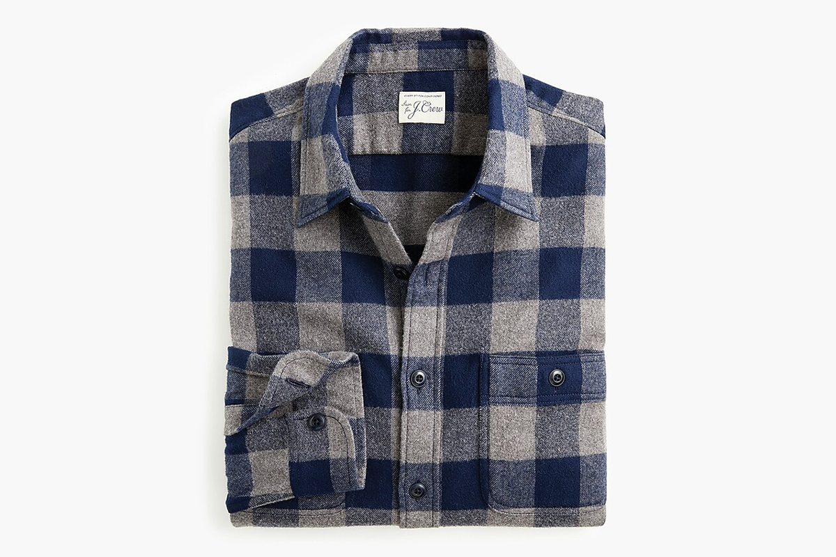 Midnight Flannel Shirt