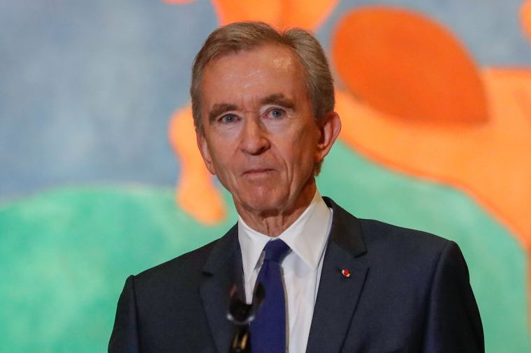 LVMH's Bernard Arnault in Running to Replace Jeff Bezos as World's Richest Person