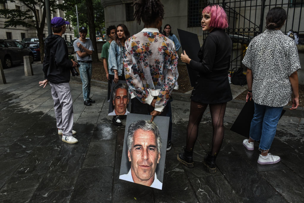 Epstein protests