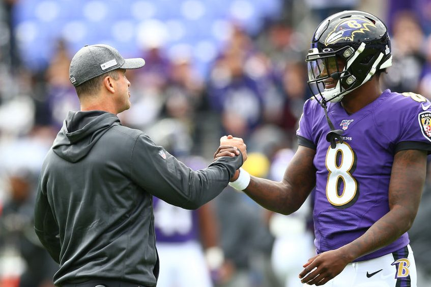 How a John Harbaugh Decision Aided Lamar Jackson's Ascent
