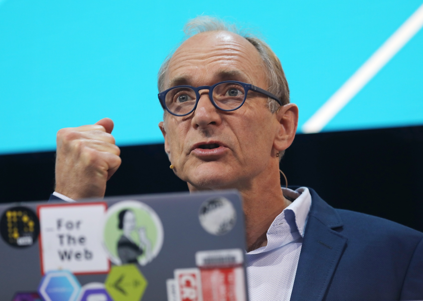 Tim Berners-Lee wants to fix the raging dumpster fire that is the internet.