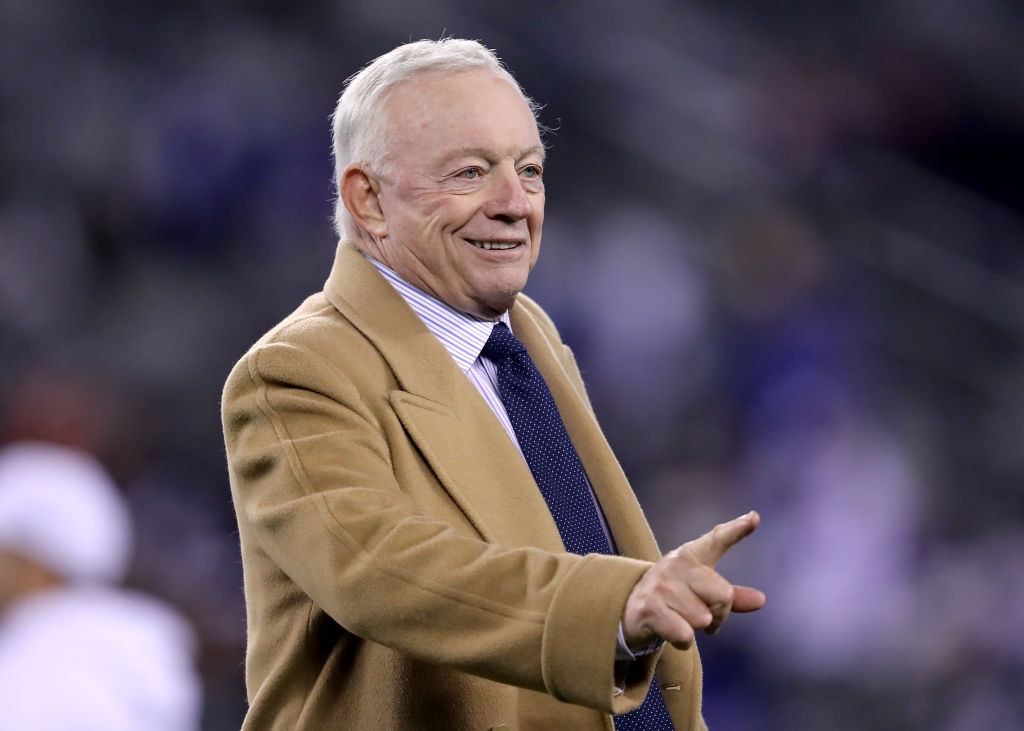 Despite Loss, Jerry Jones Is Sticking With Jason Garrett