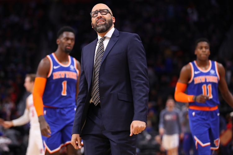 The Knicks are very very bad (Photo by Gregory Shamus/Getty Images)