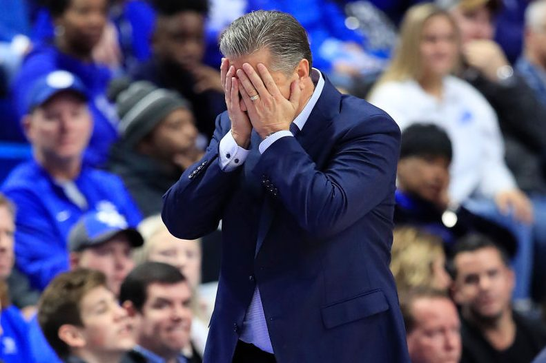 Top-Ranked Kentucky Upset By 25-Point Underdog Evansville