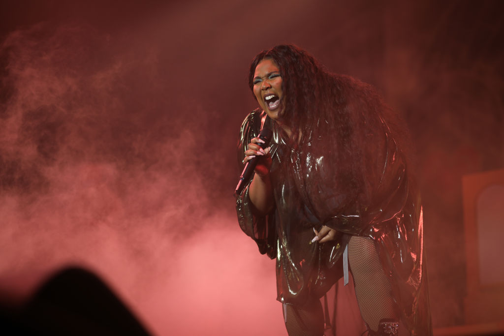 Lizzo performs at Palladium on November 13, 2019 in Cologne, Germany. (Photo by Jeremy Moeller/Redferns)