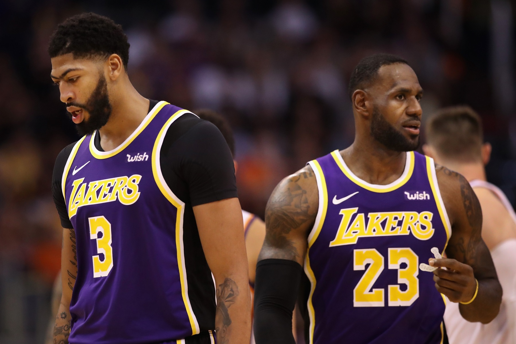 Lebron Lakers >> Los Angeles Lakers Are Playing Some Old School Basketball