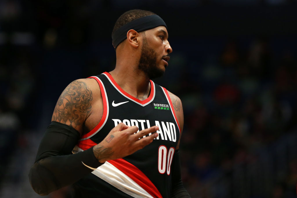 Carmelo Anthony Was Carmelo Anthony in Debut for Blazers