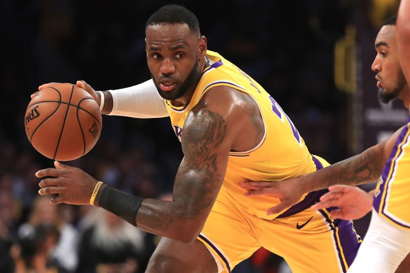LeBron James Makes NBA History With Triple-Double in Win