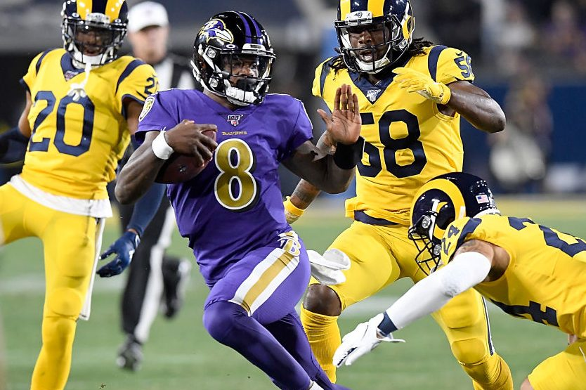 Lamar Jackson Leads Ravens in Rout of Rams in Los Angeles