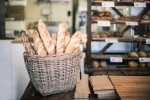 Baguettes in a bakery. (Getty Images)