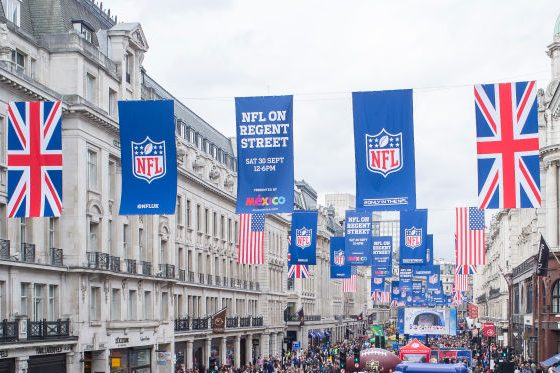 NFL's Popularity Grows in UK