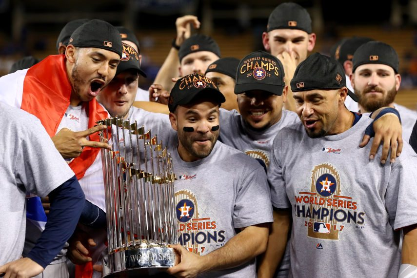 Report: Astros Stole Signs Electronically During 2017 World Series Run