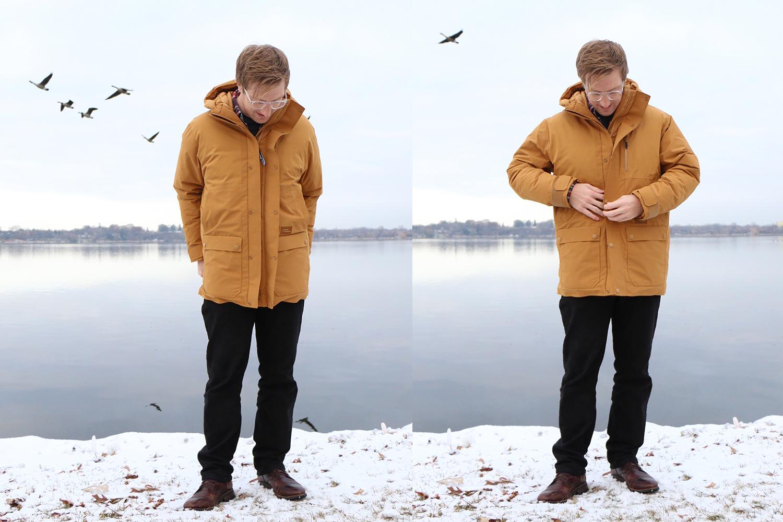 Askov Finlayson Winter Parka coat