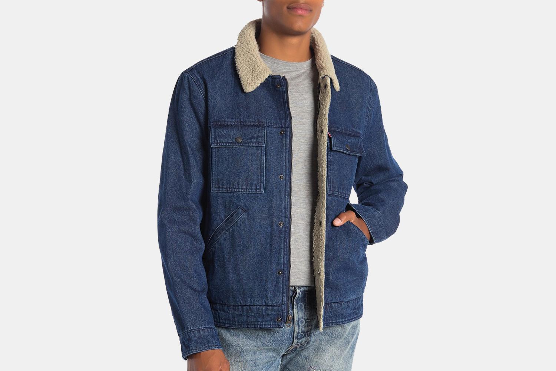 Levi's Sherpa-Lined Denim Jacket