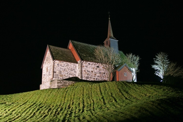 Remains of Viking Ship Found Near Church on Norwegian Island