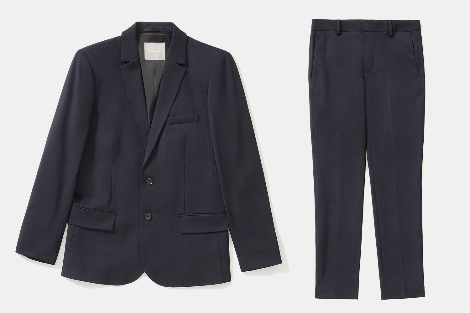 Everlane men's Italian wool suit