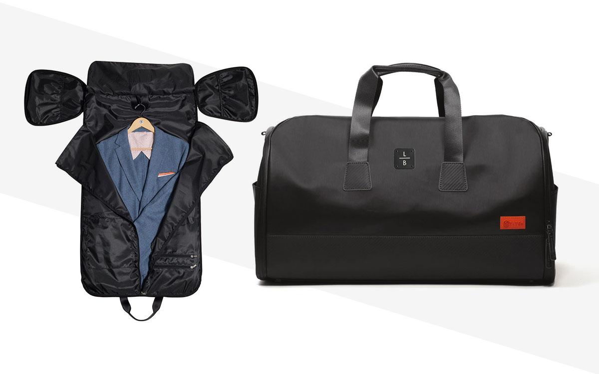 FB Jewels Solid Black Microfiber Travel Duffel Bag