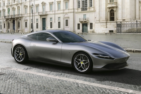 Ferrari Roma grand tourer coupe