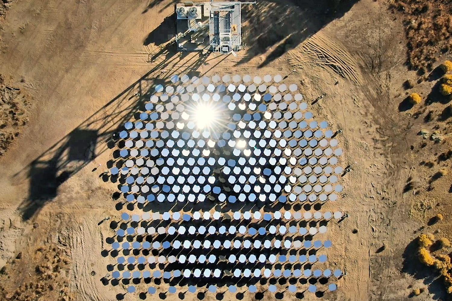 Heliogen Solar Thermal Plant in Lancaster, California