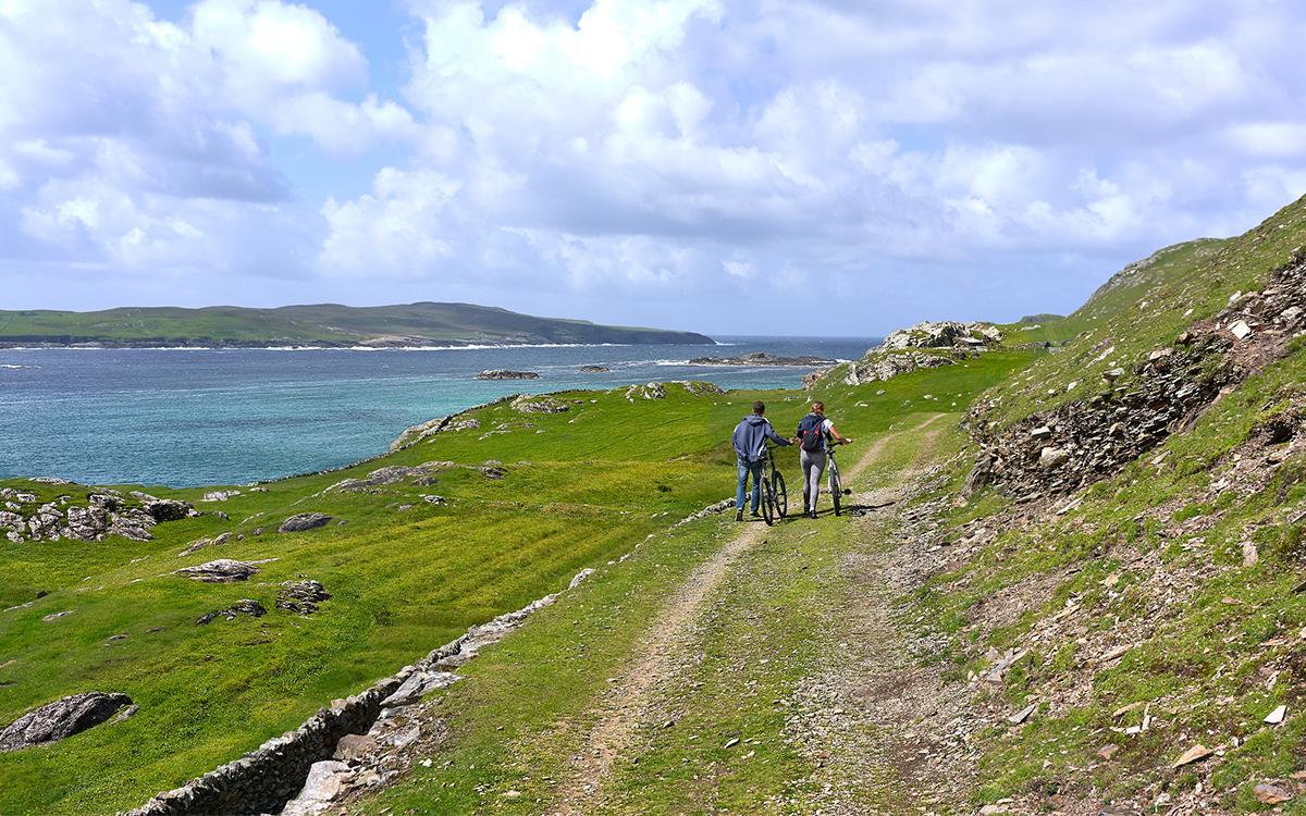 Ireland Wild Atlantic Way Cycling Route