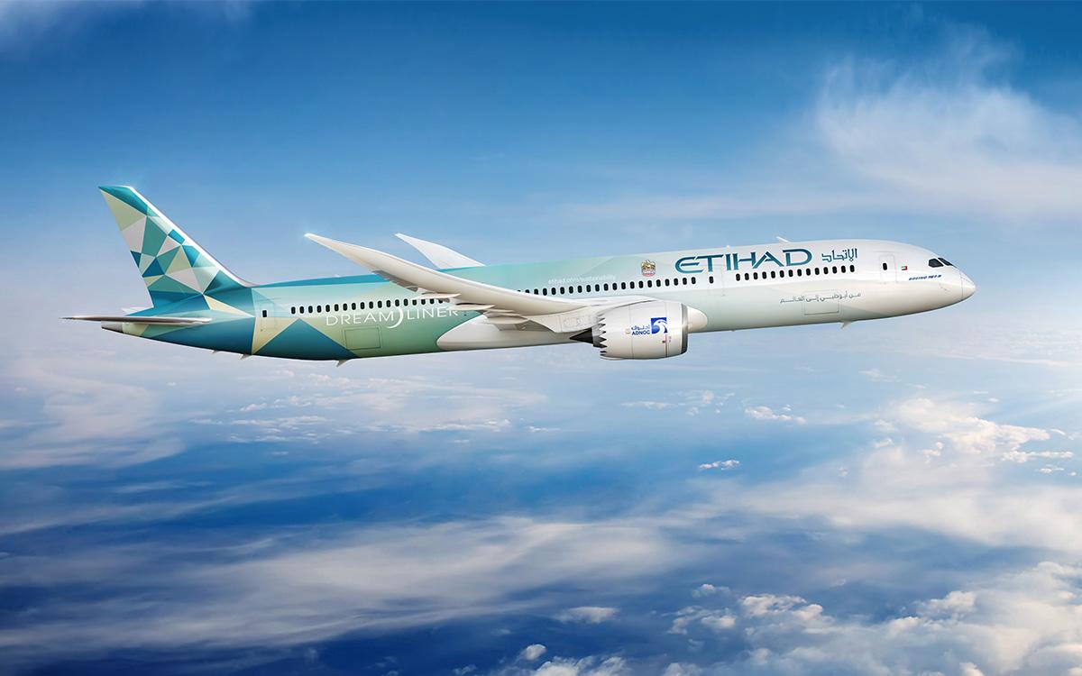 Etihad Greenliner Plane