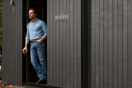 Matthew McConaughey Wild Turkey Cabin Australia