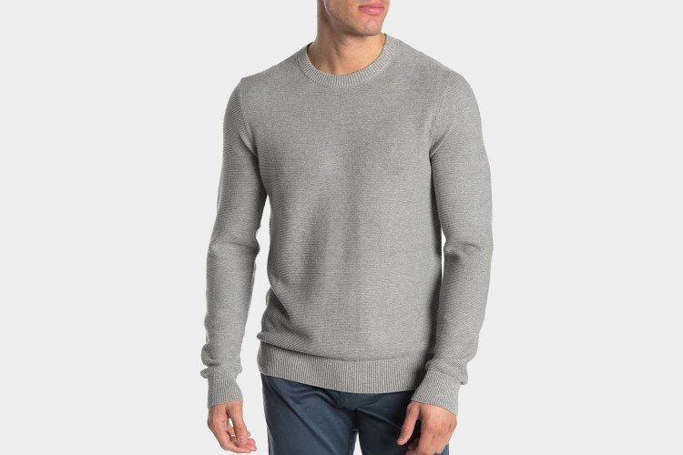 Original Penguin Ribbed Crew Neck Sweater Nordstrom's Rack