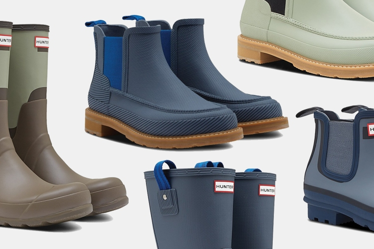 Hunter Waterproof Rain Boots