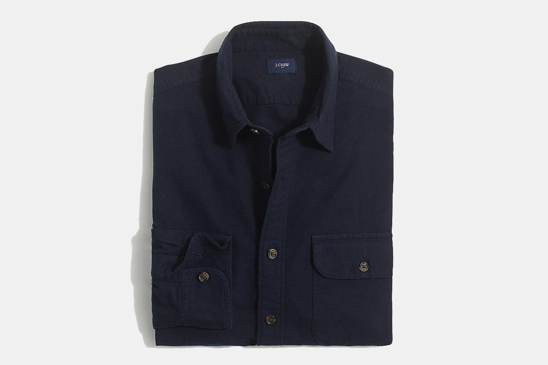 J.Crew Factory Indigo Shirt-Jacket