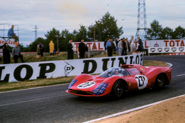 Ferrari 330 P3 Spyder 1966 24 Hours of Le Mans