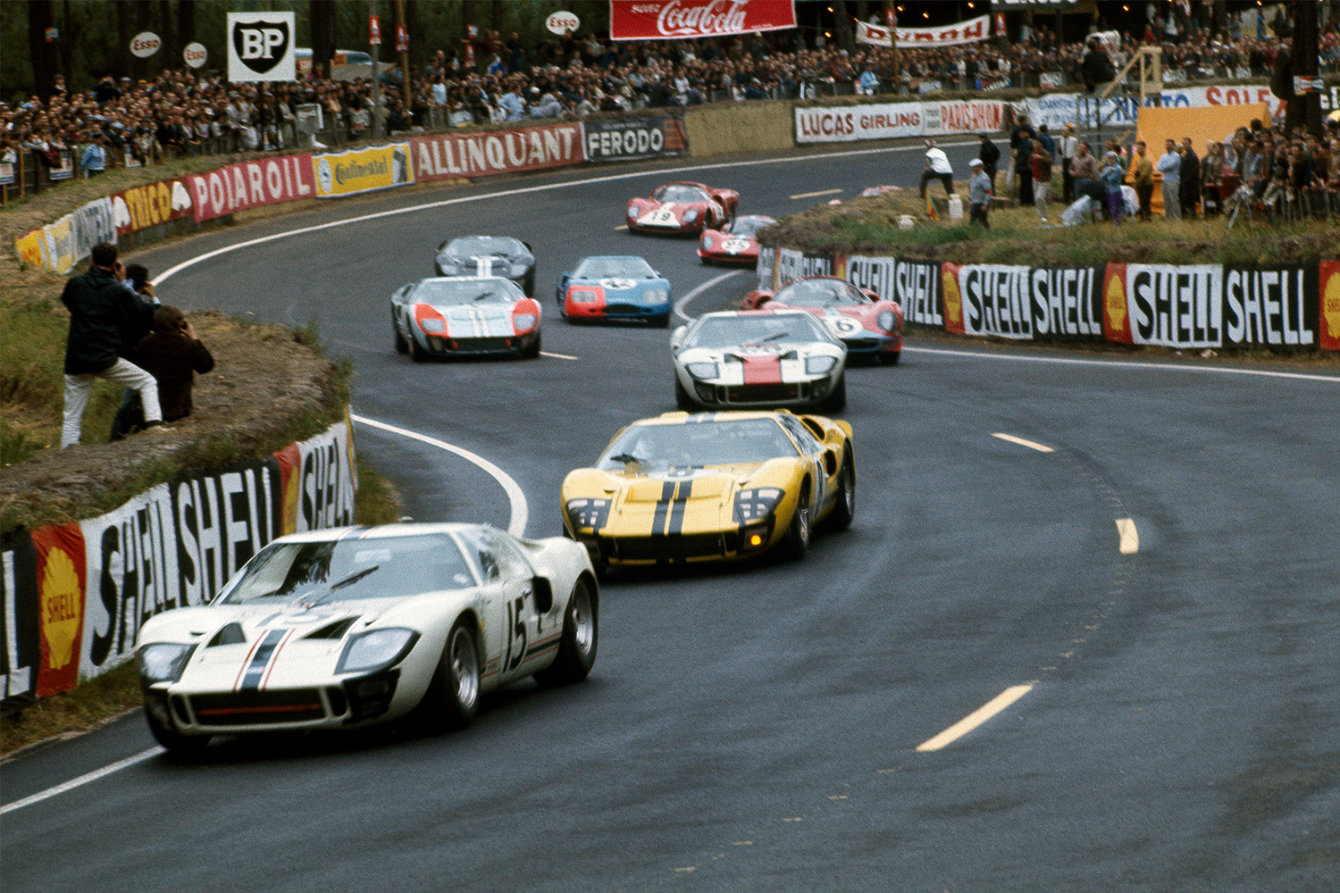 Ford GT40 24 Hours of Le Mans Race 1966
