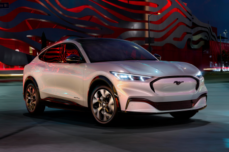 Ford All-Electric Vehicle Mustang Mach-E SUV