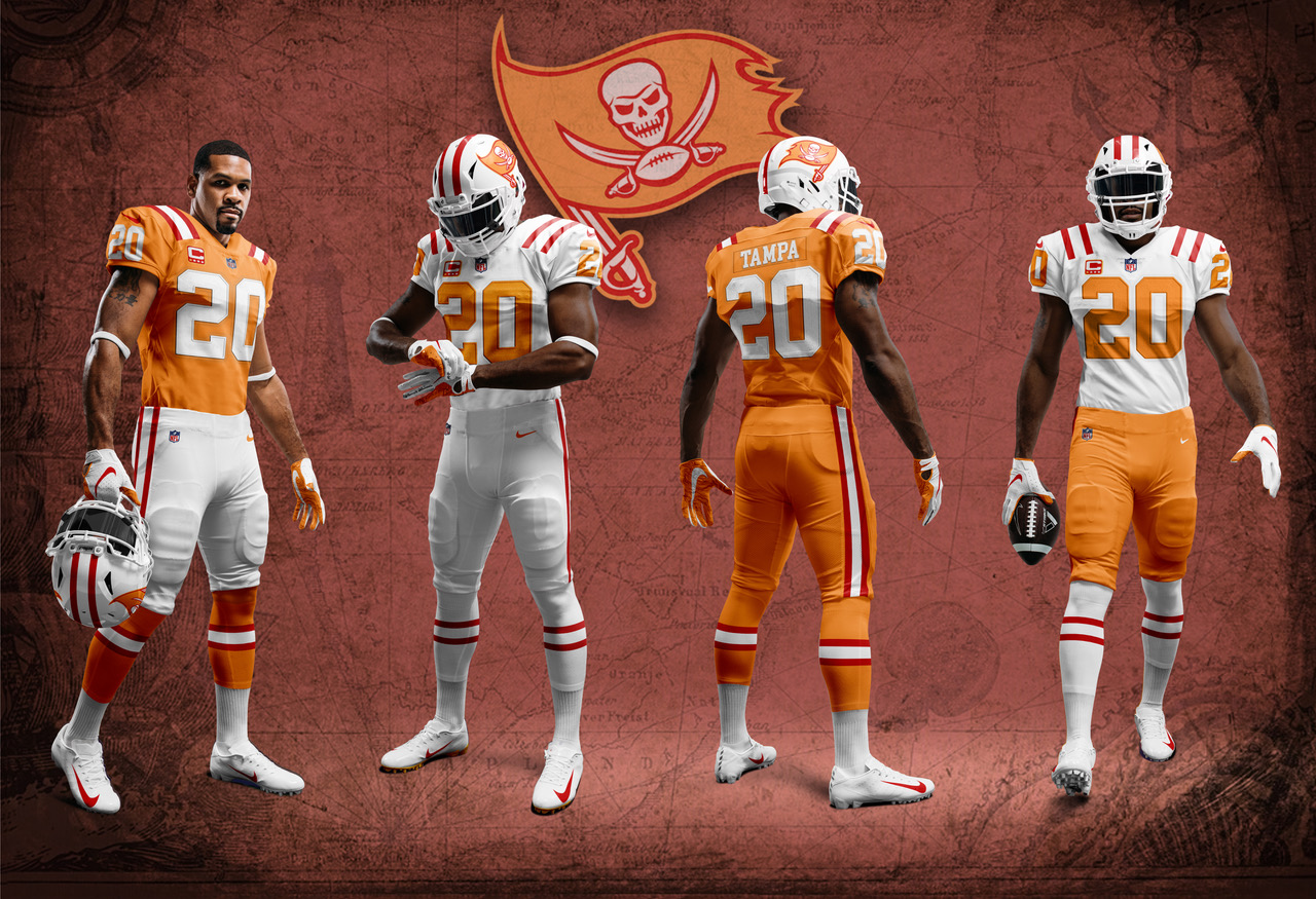 uniwatch tampa bay buccaneers redesign contest o'keefe