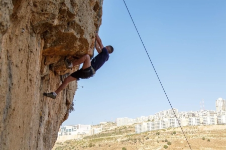 Wadi Climbing Palestine