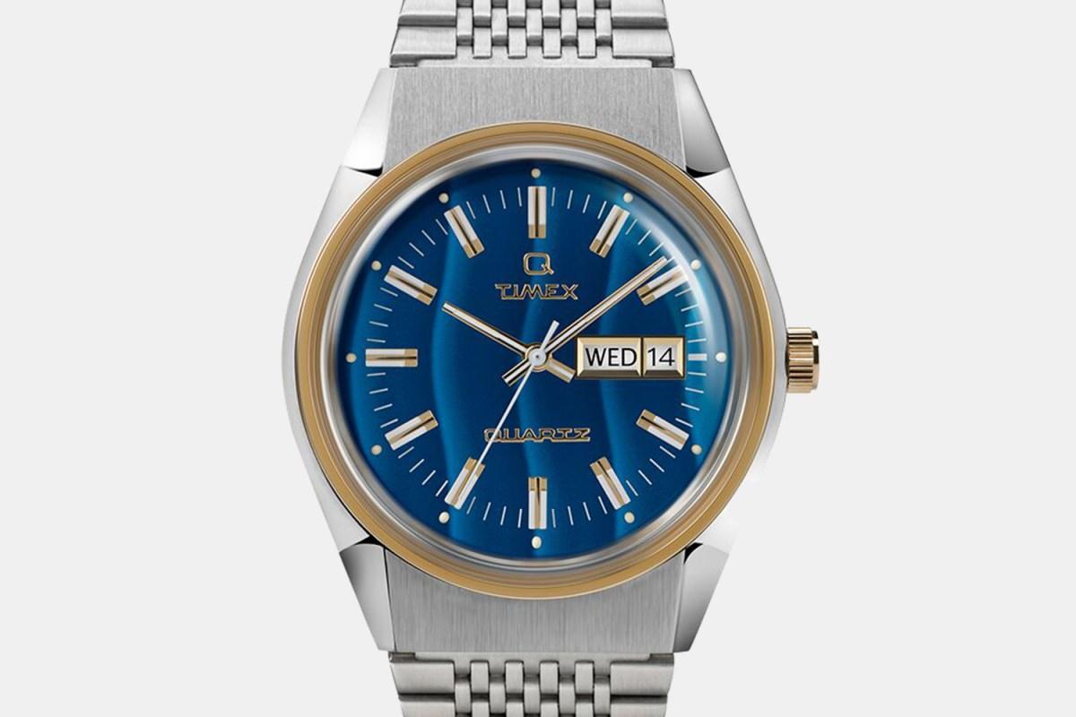 Q Timex 1979 Falcon Eye Watch
