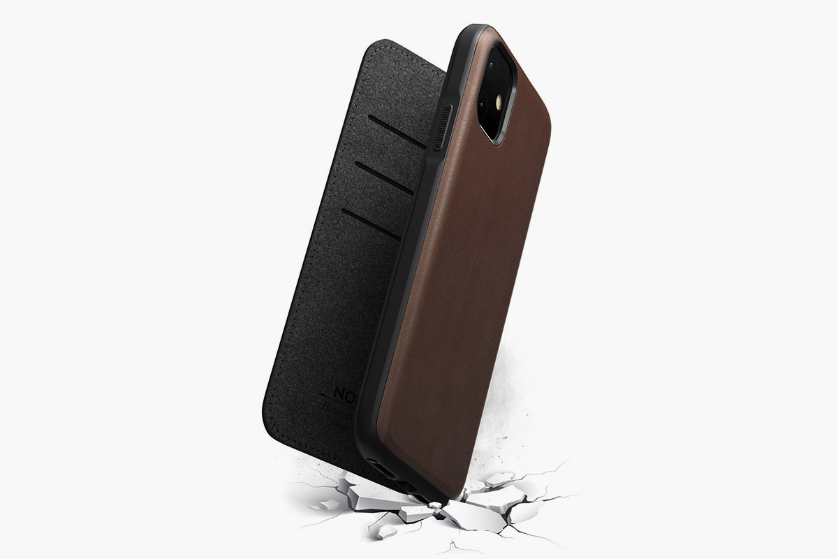 iPhone 11 Horween Leather Rugged Folio