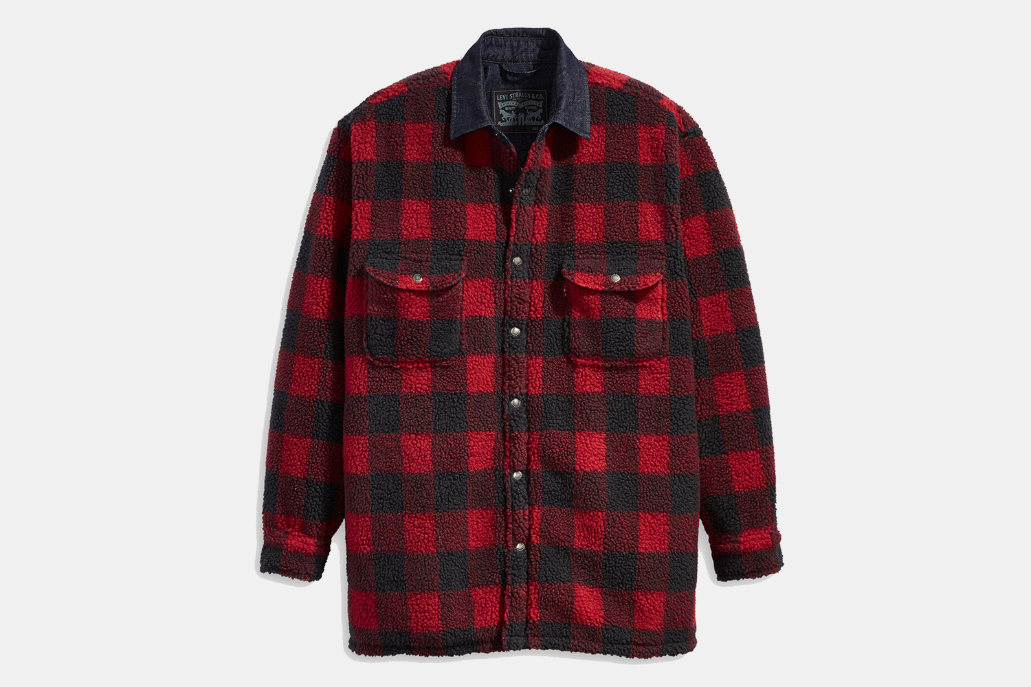 Levi's Sherpa Utility Worker Shirt