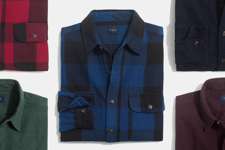 J.Crew factory men's shirt jackets