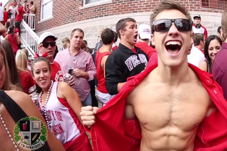 One of the parties featured on I'm Shmacked's YouTube