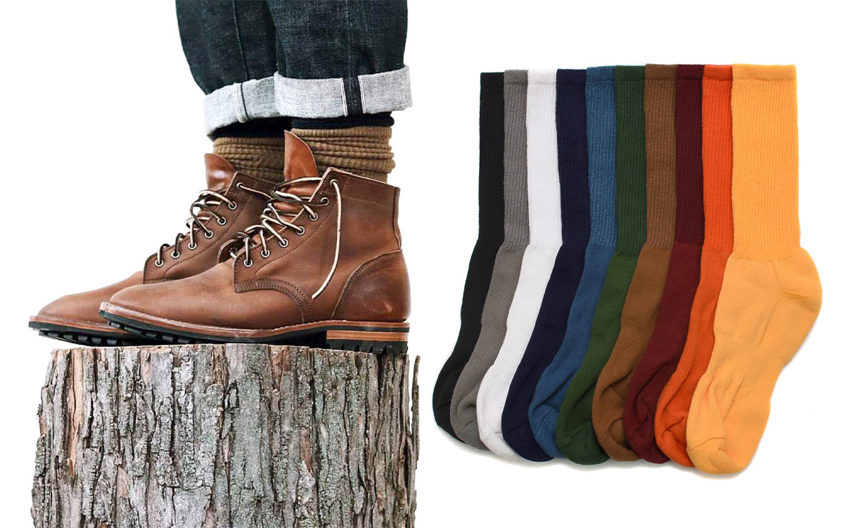 american trench socks holiday gift guide