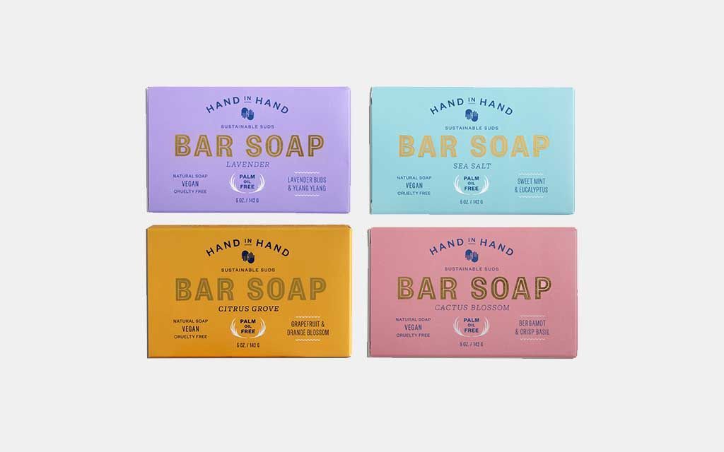 Hand in Hand Sustainable Bar Soap