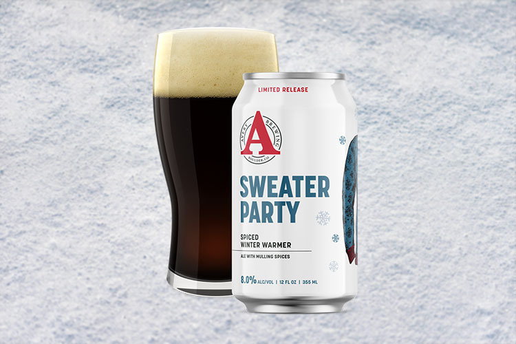 avery brewing sweater party christmas beer