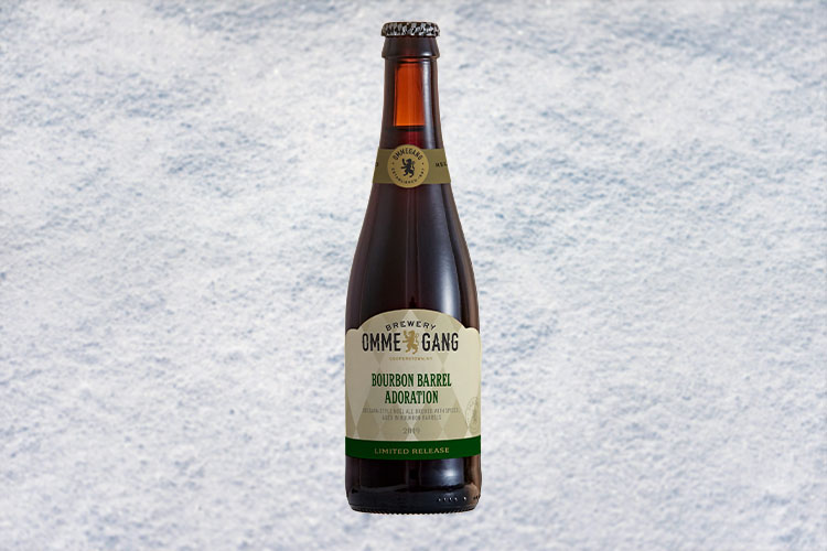ommegang bourbon barrel adoration christmas beer