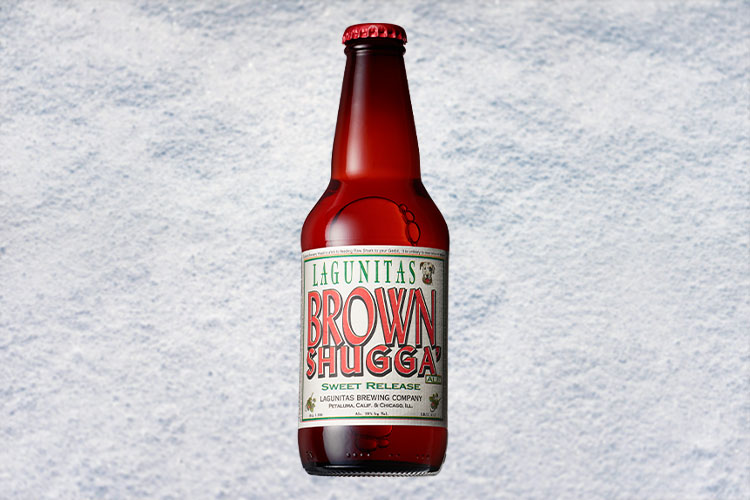 lagunitas brown shugga christmas beer